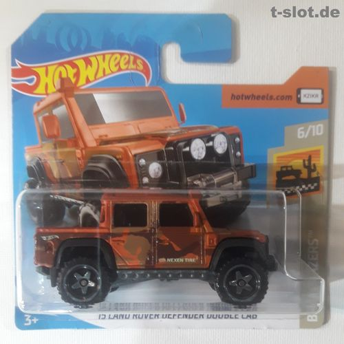 HotWheels - ´15 Land Rover Defender Double Cab